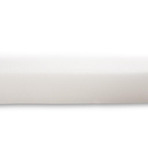 Saltea landou matlasata de burete Sensillo 75x35 cm Alba