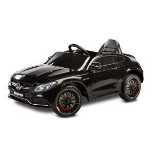 Masinuta electrica cu telecomanda Mercedes AMG C63 S Neagra