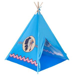 Cort pentru copii PlayTo Teepee Indian Albastru mic