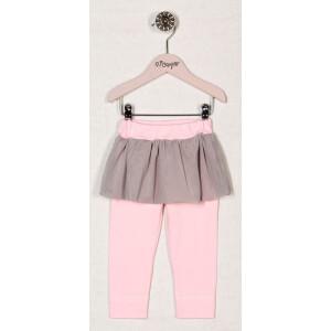 Pantaloni bumbac 95% Bamar-Nicol 13120 marimea 80 roz