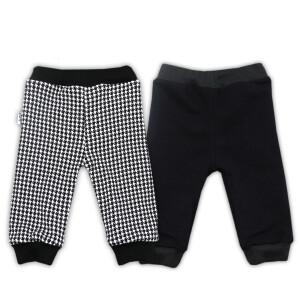 Pantaloni cu doua fete bumbac 100% Bamar-Nicol 14538 C marimea 80 negru