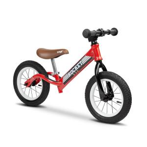 Bicicleta fara pedale cu roti gonflabile Toyz ROCKET Rosie