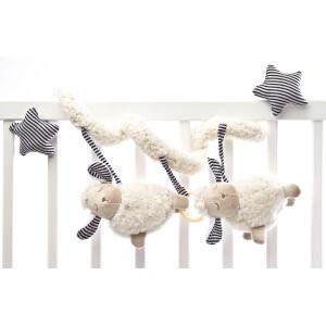 Spirala cu jucarii pentru patut/carucior Sensillo Sheep