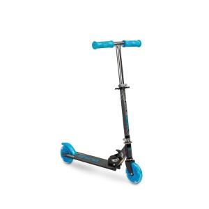 Scooter cu casca, cotiere si genunchiere Toyz TAURO Albastru