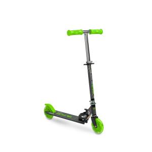 Scooter cu casca, cotiere si genunchiere Toyz TAURO Verde