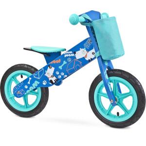 Bicicleta fara pedale Toyz ZAP Blue