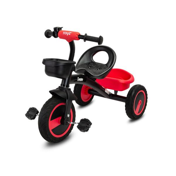 Tricicleta pentru copii Toyz EMBO Red