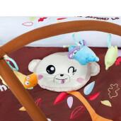 Saltea de joaca/somn cu melodii PlayTo Air cu margini gonflabile