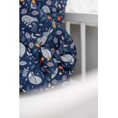 Paturica nou-nascut Sensillo Wafel Wrap Regatul Animalelor 75x75 cm
