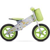 Bicicleta fara pedale Toyz ZAP Grey